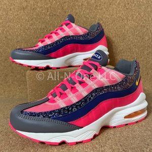 Nike Air Max 95 GS Purple Raver Pink Women's Shoes